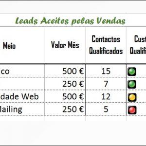 Leads Aceites Pelas Vendas