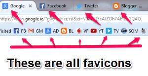Favicons no web design