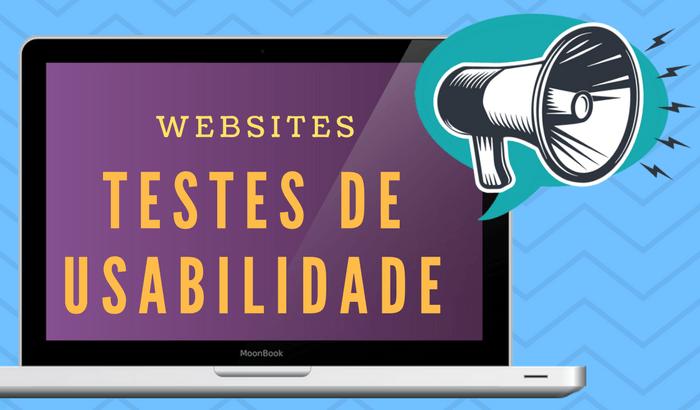 Testes de Usabilidade de Websites