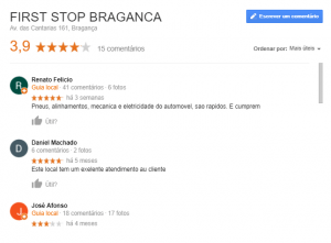 rating do google my business