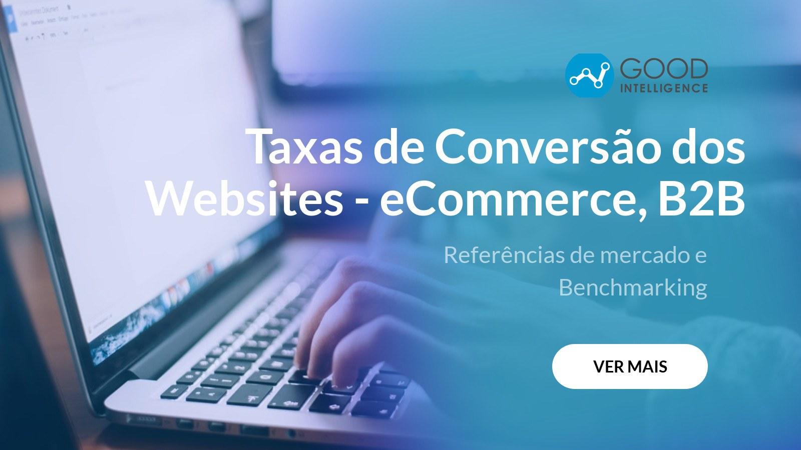 taxa de conversao de websites ecommerce e b2b