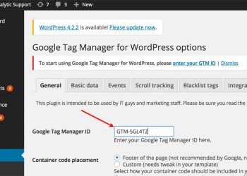 plugin wordpress google tag manager